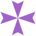 Maltese Cross Violet